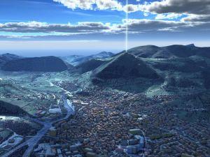 bosnische-pyramiden Radiocarbondatierungen vom Pyramidenkomplex in Bosnien: ca. 29.000 Jahre vor heute Quelle: http://bosnianpyramidofthesun.com/
